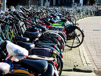 The Bikes of Amsterdam